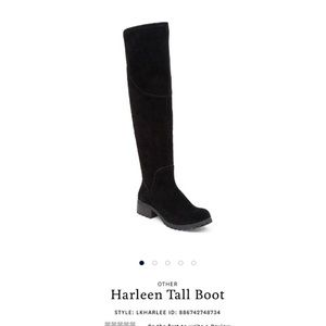 Lucky Brand Shoes - Lucky Brand 'Harleen' Black Suede Boots